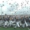 The Hat Toss at graduation, 27 May 2006, West Point, NY
