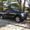 Brian's '17 F150 with Fox Shocks Leveling System