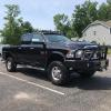 Buckstop Bumpers and Carli Suspension on this '12 Ram 3500