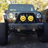 "Alana's Jeep Wrangler with OCF by MBRP Bumper and 6"" KC Daylighter Lights"